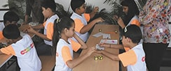 Mastermind Abacus learning with Game